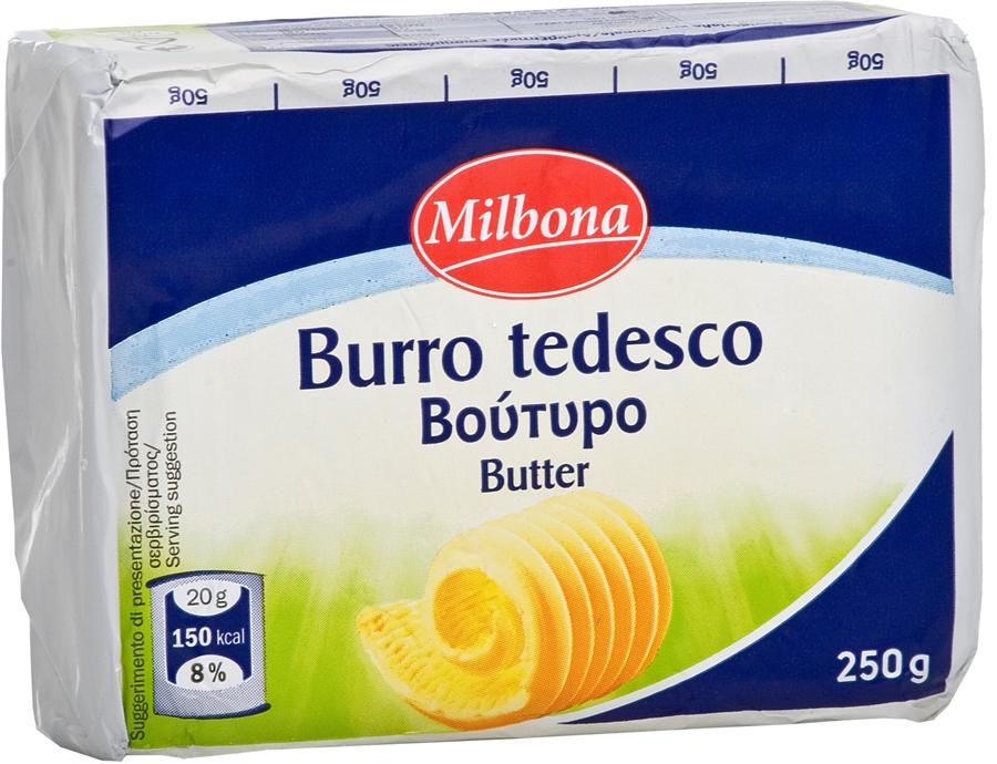 MILBONA (LIDL) Burro tedesco