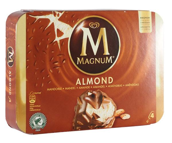 Algida , Magnum Mandorle