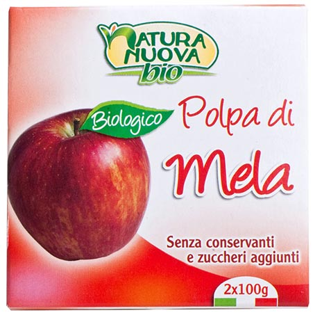Polpa di mela Biologico