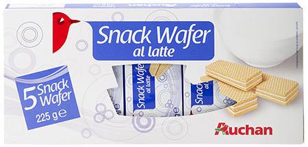 Snack Wafer al latte