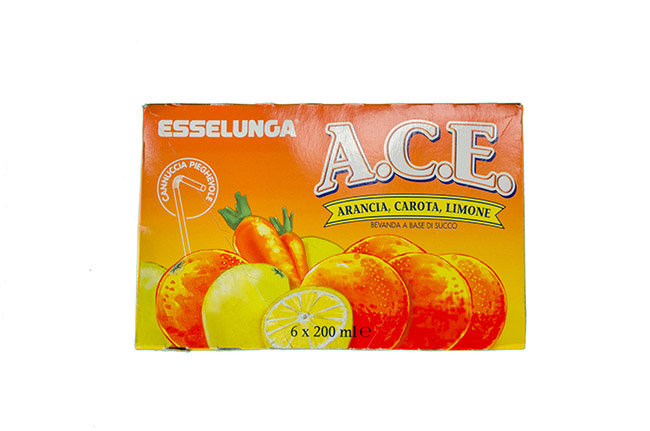 A.C.E. arancia, carota, limone