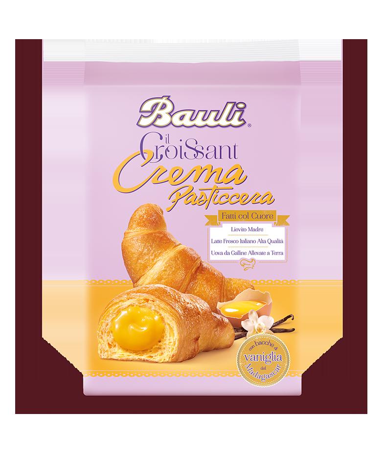 Il Croissant alla Crema Pasticcera