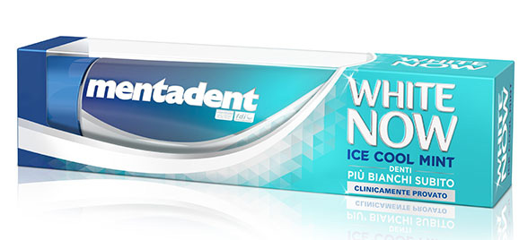 White now - ice cool mint