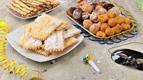 Quanto sono calorici i dolci di carnevale?