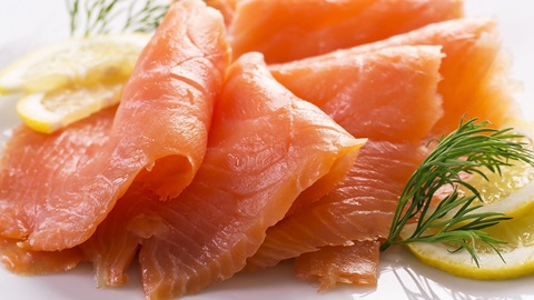 Test sul salmone affumicato