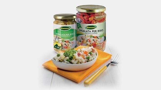 Frammenti di vetro nei vasetti: richiamato un lotto di insalata per riso Manzoni