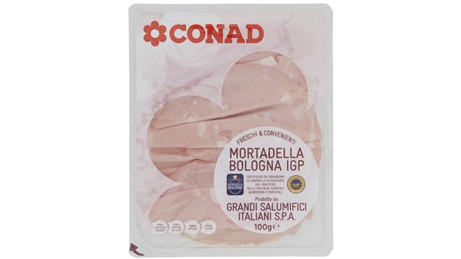 Conad richiama le confezioni di Mortadella Bologna IGP