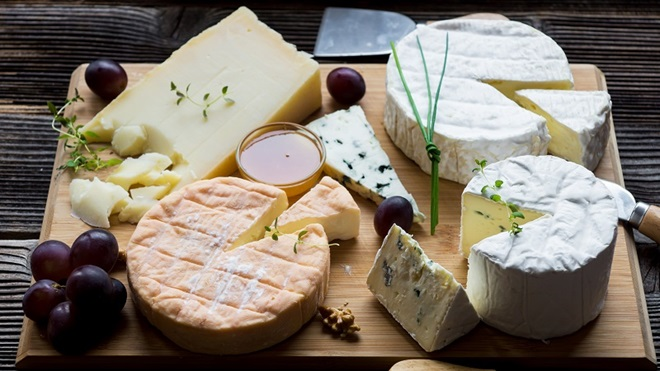 Ritiro formaggi francesi