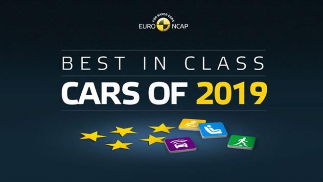 Euro NCAP premi best in class cars of 2019