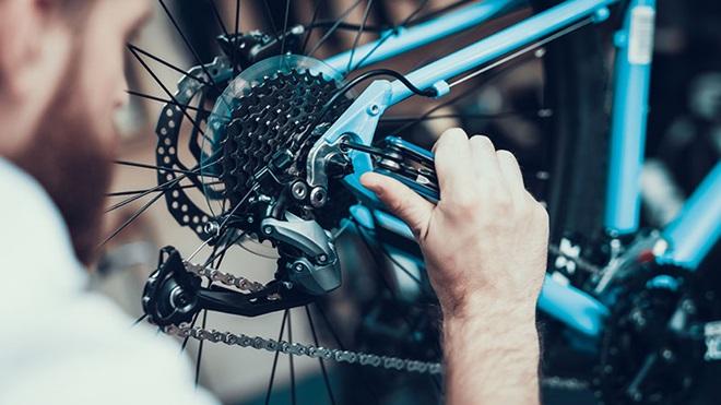 riparare la bici