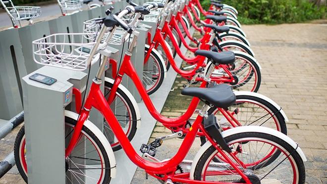 parcheggio bike sharing