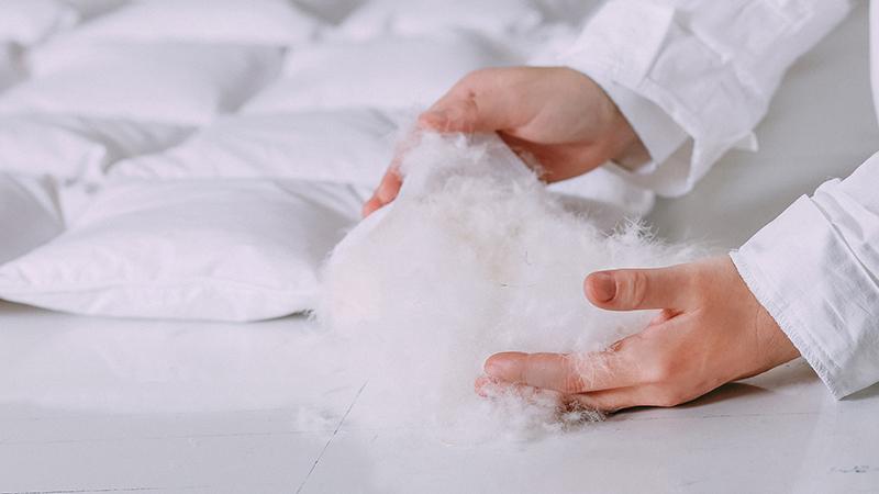 factory price 6f454 98711 Come testiamo i piumoni per il letto | Altroconsumo