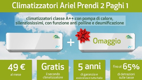 Condizionatori Ariel Energia