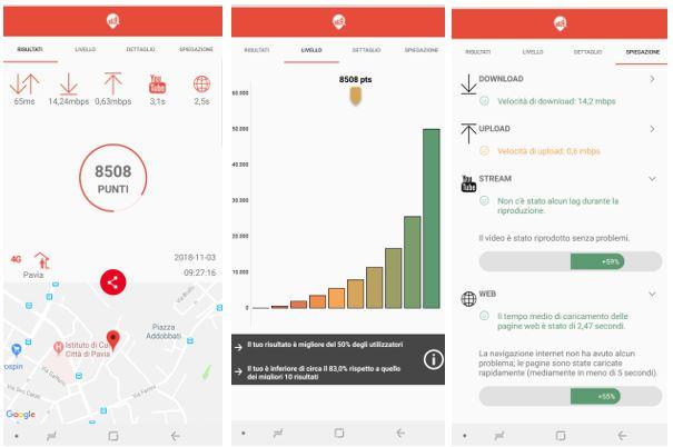CheBanda App: misura la tua rete mobile in tempo reale