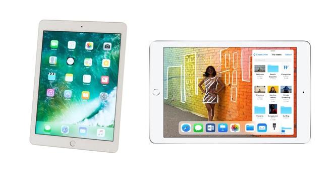 iPad 9.7 e iPad 2018 a confronto