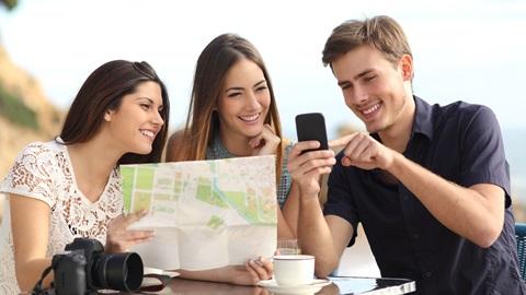 mappa rete smartphone