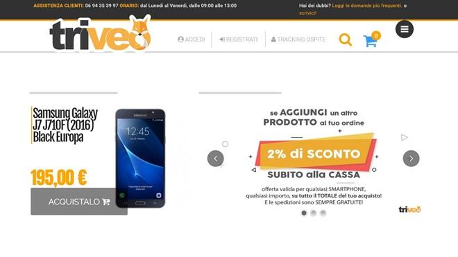 Attenzione al sito di ecommerce Triveo