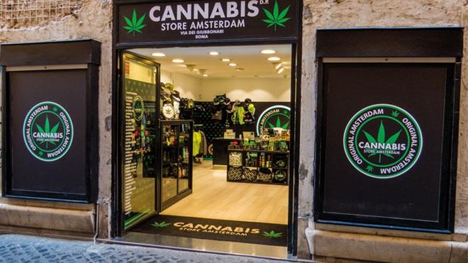 cannabis negozio