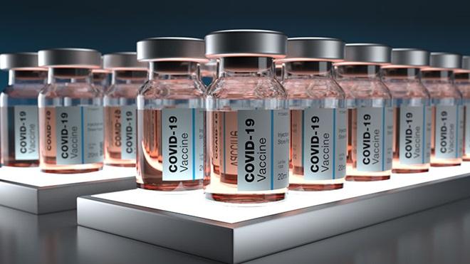 fiale di Vaccino  anti Covid-19