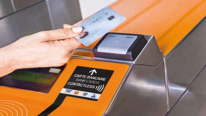 tornelli contactless