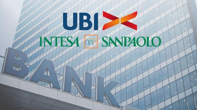 Ubi Banca diventa Intesa San Paolo