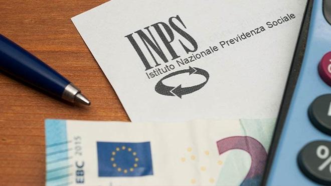 foglio carta intestata INPS e 20 euro
