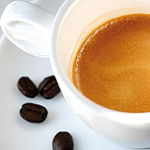 test caffè polvere