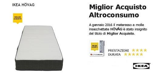 Comprare materasso latest materasso ortopedical form with - Acquisto on line ikea ...