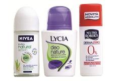 Deodoranti senza alluminio: pro e contro