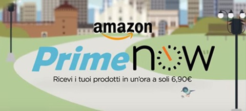 Abbiamo messo alla prova Amazon Prime Now, il nuovo servizio che promette la consegna dell'ordine entro un'ora